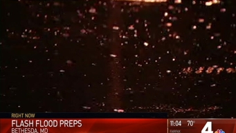 Montgomery County Prepares for Possible Flash Flooding