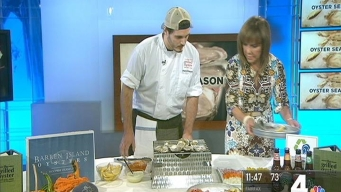 Chef Steve Mason Gives Us the Run Down on Oysters