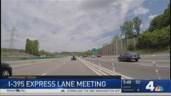 Public to Weigh in on I-395 Express Lanes Extension