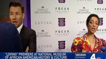 'Loving' Premier in Washington