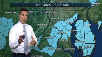 Frost, Freeze for Much of DC Area