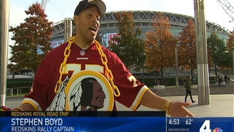 Introducing the Redskins Rally Captain
