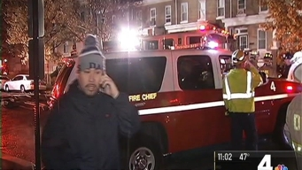 Firefighters Battle 2-Alarm House Fire in NW DC