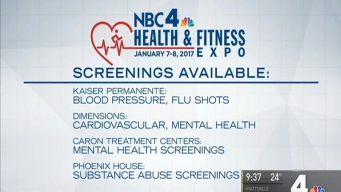 Get Free Screenings at the Health & Fitness Expo