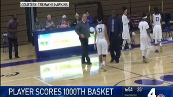 Md. High School Hoops Star Scores 1,000th Point
