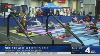 Learn Yoga at the Health & Fitness Expo