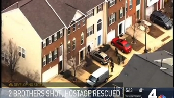 Police: Man Shot 2, Started Fire in Home With Hostage Inside