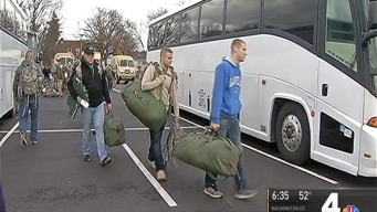 National Guard Members Arrive in DC to Support Inauguration Security