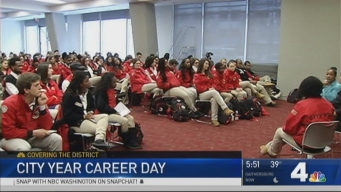 News4 Joins City Year to Celebrate Career Day