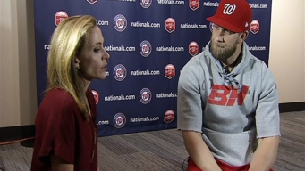 Bryce Harper Prepared to Protect DC From Zombies