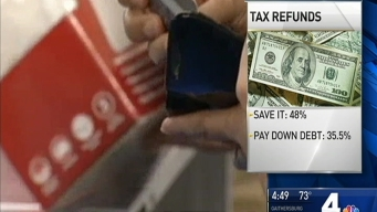 Most People Plan to Save Tax Refunds: Study