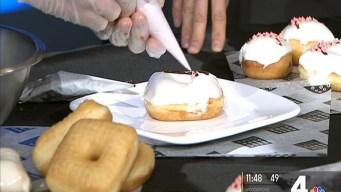 Get a Cherry Blossom Doughnut While You Can