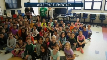 Doug Visits Wolf Trap Elementary School