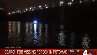Search for Missing Person in Potomac Now Recovery Effort