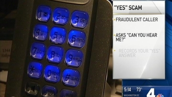 'Yes' Scam: Callers Stealing Voice Signatures