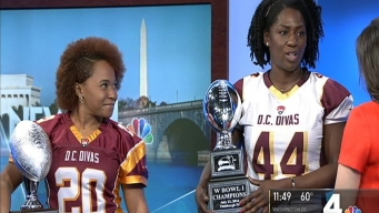 Meet the DC Divas, Washington's Women's Football Champs