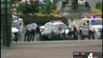 Woman Arrested After Allegedly Driving Erratically Near US Capitol