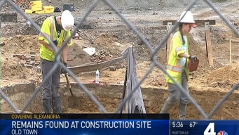Remains Discovered at Alexandria Waterfront Construction Site