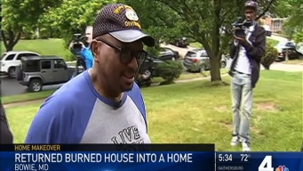 Couple Helps Prince George's County Vet Who Lost Home