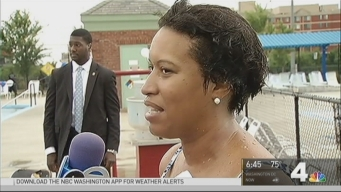 Mayor Bowser Kicks Off Pool Season with a Splash