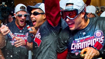 Nats Clinch NL East Title