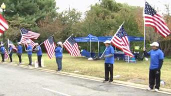 Wear Blue Mile Honors Those Killed in Combat