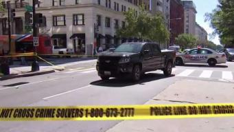 Woman Hit by Pickup, Seriously Hurt in Downtown DC