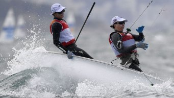 Team USA's Sailing 'Sisters' Push for Medals in Women's 470
