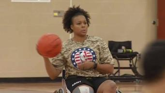 Wounded Veteran Excels at Wheelchair Basketball