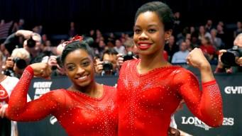 Simone Biles Reacts to Gabby Douglas' Controversial Message