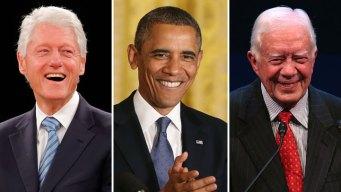 Presidents, Oprah Among Speakers Wed.