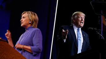 Clinton, Trump Jockey on Fighting Terrorism