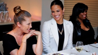 Paula Patton Hosts Covergirl Dinner in DC