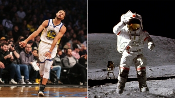Steph Curry Doubts Moon Landing, NASA Offers to Show Proof