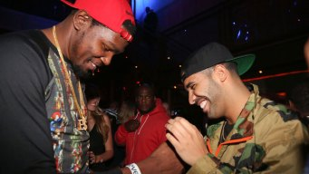Who's Laughing Now? Durant Jabs Drake After Intentional Bump