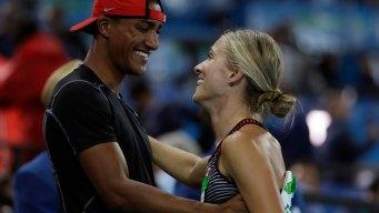 Married Olympians Ashton Eaton, Brianne Theisen-Eaton Retire