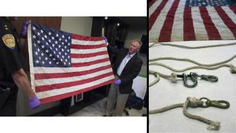 Iconic Ground Zero Flag Thought Lost Returning to NYC