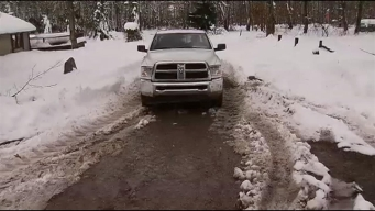 Sandy Leaves Heavy Snow for Garrett Co.