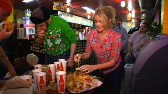 Fatso's Challenge Isn't for the Average Competitive Eater