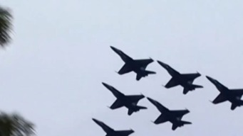 Reagan Flights Suspended for July 4 Military Flyovers