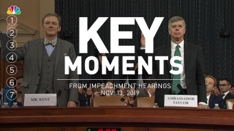 Key Moments From Impeachment Hearing