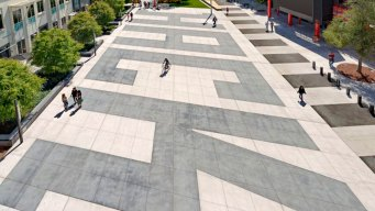 Why Facebook Immortalized an Illegal Crosswalk With Nine Gray Stripes at Its Headquarters