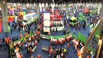 NBC4 Health & Fitness Expo: Big Fun on Day One