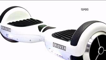iRover Recalls Hoverboards Due to Fire Risk
