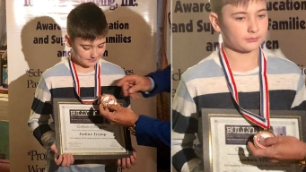 Boy Bullied for Having Trump Last Name Gets Medal of Courage