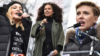 A-Listers Out in Force for Anti-Trump Women's Marches