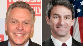 McAuliffe Criticizes Cuccinelli on Domestic Abuse