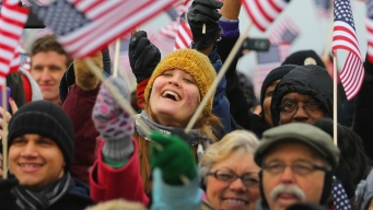 Hundreds of Thousands Attend Inauguration