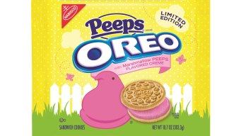 Peeps-Flavored Oreo Cookies Are Here