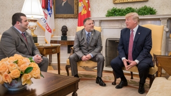 'The President Saved My Life': Trump Meets Cancer Survivor